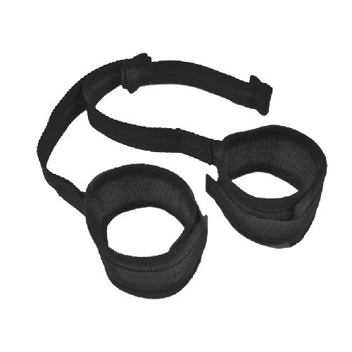 Sex & Mischief - Door Play Cuffs - Black